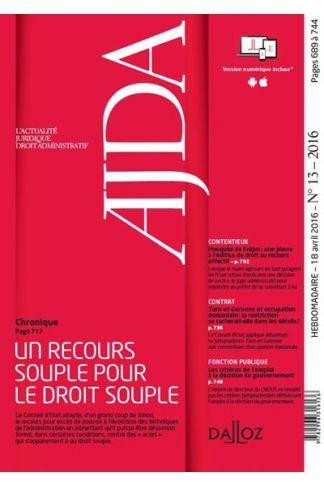 AJDA (Abonnement 2021)