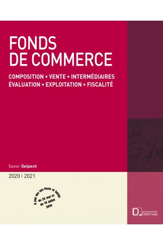 Fonds de commerce 2020/21