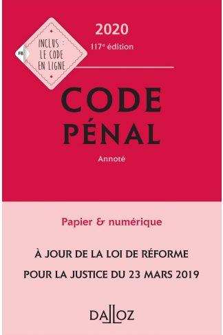 Code pénal 2020, annoté