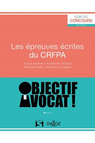 Les épreuves écrites du CRFPA