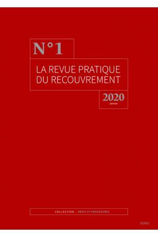 La revue pratique du recouvrement (Abonnement 2021)