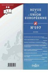 Revue de l'union européenne  (-50% sur votre Revue 2021)