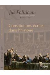 Constitutions écrites dans l'histoire