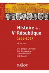 Histoire de la Ve République
