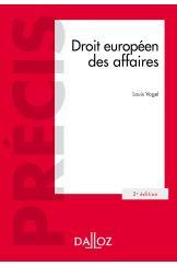 Droit européen des affaires