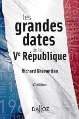 Les grandes dates de la Ve République