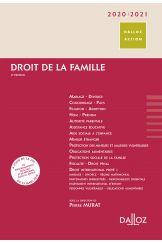 Droit de la famille 2020/2021