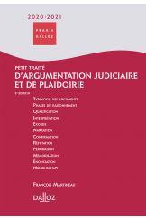 Petit traité d'argumentation judiciaire et de plaidoirie 2020/2021