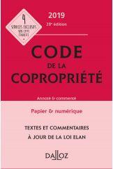 Code de la copropriété 2019, Annoté et commenté