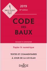 Code des baux 2019, Annoté et commenté