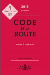 Code de la route 2019, annoté et commenté