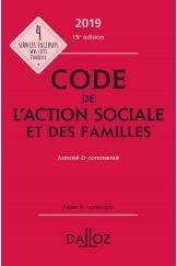 Code de l'action sociale et des familles 2019, annoté & commenté