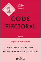 Code électoral 2020, annoté