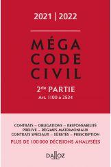 Méga Code civil 2021-2022, 2e partie