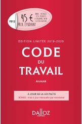 Code du travail annoté, Édition limitée 2019-2020