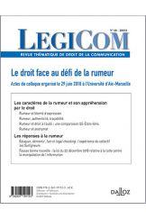 Legicom n°60 2018/1
