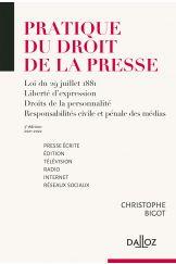 Pratique du droit de la presse