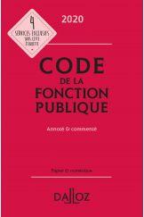 Code de la fonction publique 2020, annoté et commenté