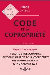 Code de la copropriété 2020, Annoté et commenté