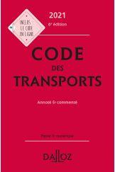Code des transports 2021, annoté & commenté