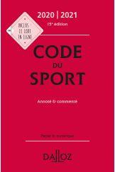 Code du sport 2020-2021, annoté et commenté