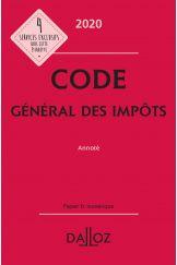 Code général des impôts 2020, annoté
