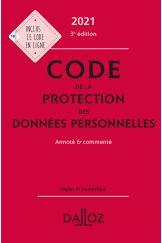 Code de la protection des données personnelles 2021