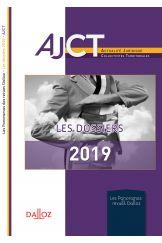 AJCT - Les dossiers de l'année 2019