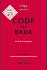 Code des baux 2021, Annoté et commenté