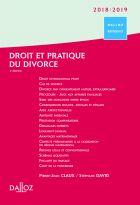 Droit et pratique du divorce 2018/2019