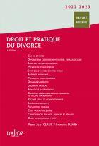 Droit et pratique du divorce 2022/2023