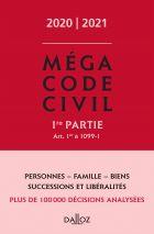 Méga Code civil 2020, 1re partie