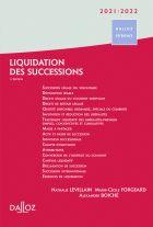 Liquidation des successions 2021/22