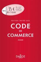 Code de commerce 2022 annoté. Édition limitée