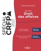Épreuves écrites du CRFPA - Spécialité Droit des affaires