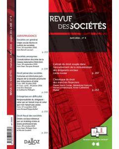 Revue des sociétés