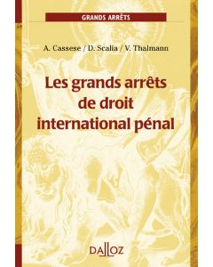 Les grands arrêts de droit international pénal