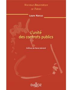 L'unité des contrats publics. Volume 96
