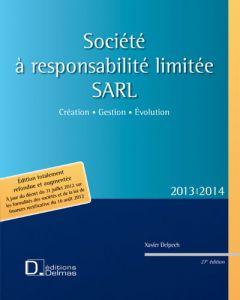 Société à responsabilité limitée SARL 2013/2014