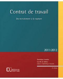 Contrat de travail 2011/2012 + CD Rom