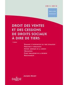 Droit des ventes et des cessions de droits sociaux à dire de tiers 2011/2012