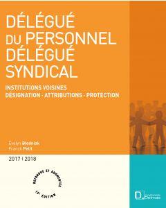 Délégué du personnel, délégué syndical 2017/2018