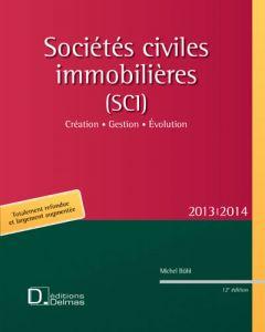 Sociétés civiles immobilières (SCI) 2013/2014
