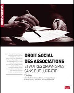 Droit social des associations et autres organismes sans but lucratif