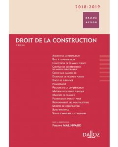 Droit de la construction 2018/2019