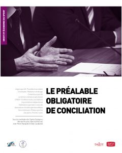 Le préalable obligatoire de conciliation