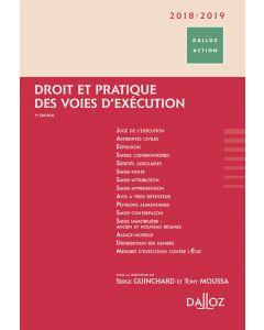 Droit et pratique des voies d'exécution 2018/2019