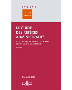 Le guide des référés administratifs 2018/2019