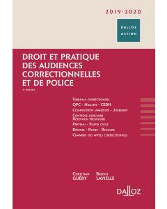 Droit et pratique des audiences correctionnelles et de police 2019/20