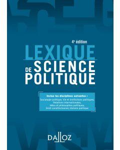 Lexique de science politique
